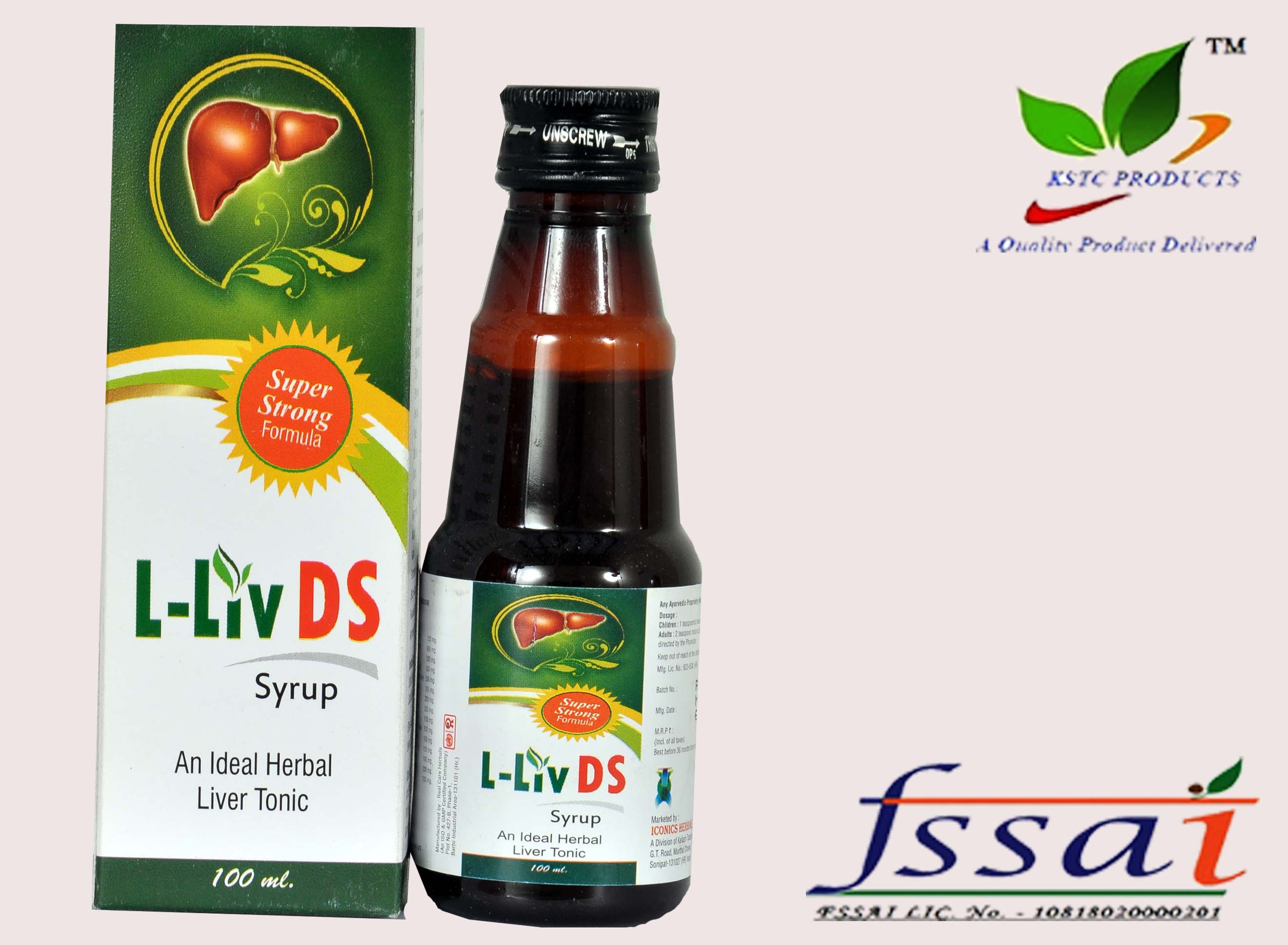 L-LIV-DS SYRUP (100 ML) – KSTC Products